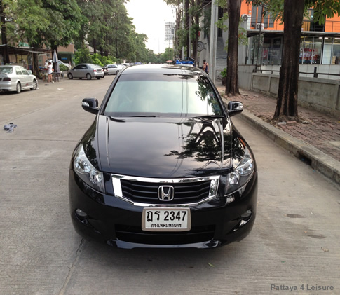 Taxi Pattaya - Honda Accord