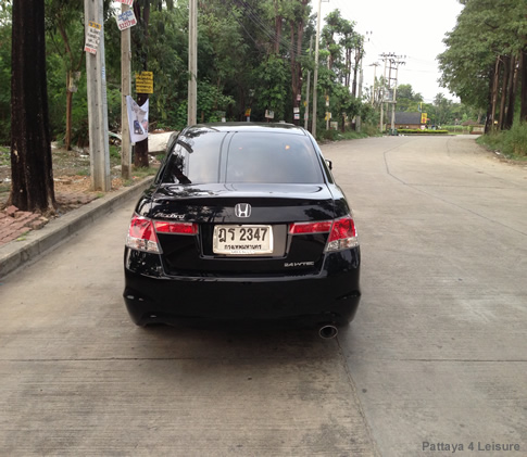 Taxi Pattaya - Honda Accord - Black